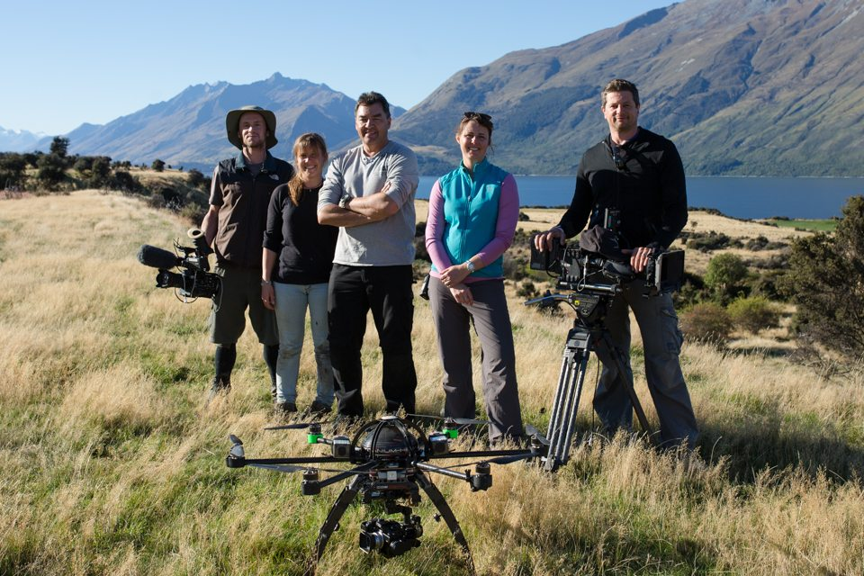 "Storyworks | Filming the autumn muster for BBC's ""Wild New Zealand"""