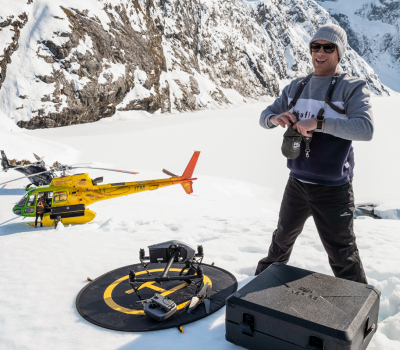 Queenstown drone pilot Josh Wallace