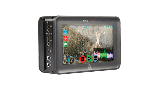 Storyworks | Atomos Ninja Blade II – 5″ Monitor and Direct to Disk Recorder