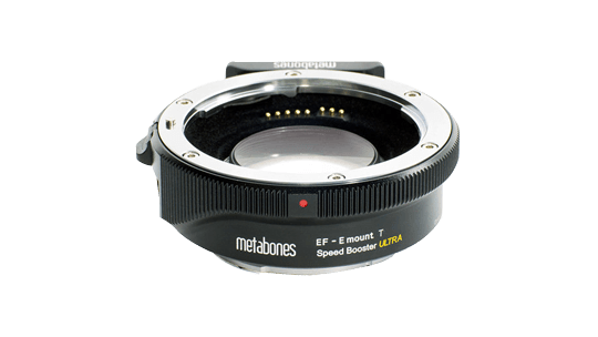 Storyworks | Metabones T Speed Booster Ultra 0.71x Adapter for Canon Full-Frame EF-Mount Lens to Sony E-Mount APS-C Camera