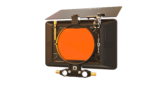 Storyworks | Bright Tangerine Misfit ATOM Matte Box