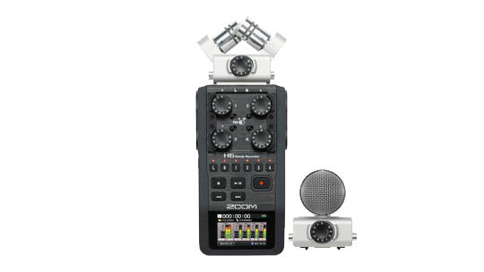 Storyworks | Zoom H6 Handy Recorder with Interchangeable Microphone System
