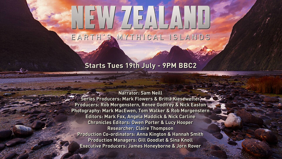 "Storyworks | BBC's ""Wild New Zealand"""