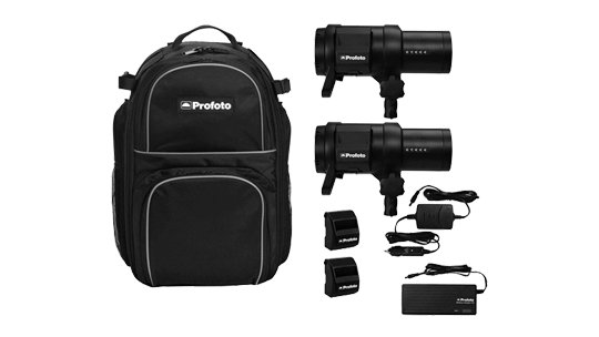Storyworks | Equipment Rental | Profoto B1X 500 AirTTL 2-Light Location Kit
