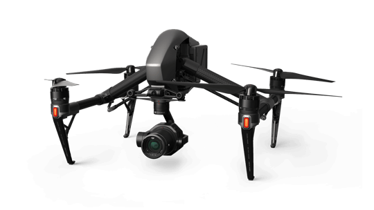 Storyworks | Equipment Rental | DJI Inspire 2 with Zenmuse X7 camera and Crystal Sky