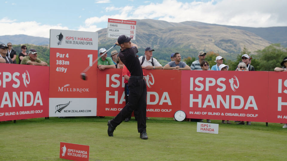 Storyworks | Brands Worked With | ISPS Handa NZ Open 2018
