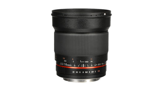 Storyworks | Rokinon 16mm f/2.0 ED AS UMC CS Lens  (EF-S Mount / APS-C)
